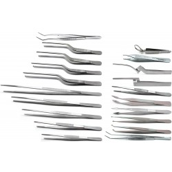 Surgical Forceps Tweezers Set of 20