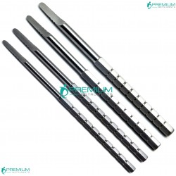 4 Pcs Dental Chisels Bone Splitting Instruments