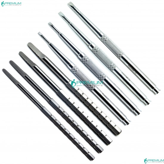 Chisel set of 8