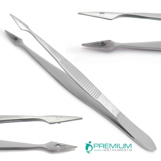 Carmalt Splinter Straight Tweezer 4.5""